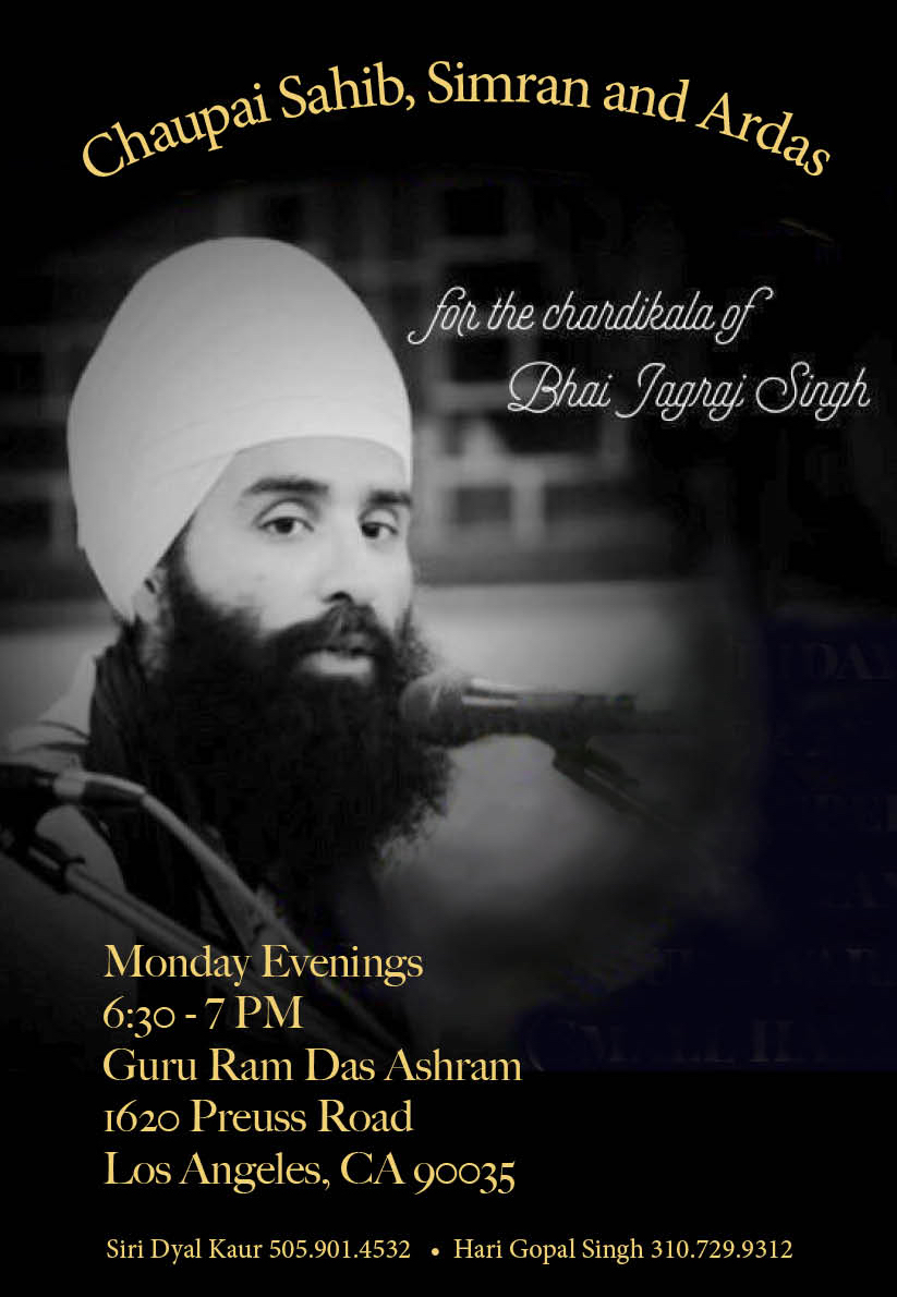 Prayers for Jagraj Singh